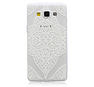 Lace Love Pattern TPU Material Phone Case for Samsung Galaxy A3/A5