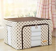 Environmental Oxford Cloth Storage Box Steel Finishing Boxes