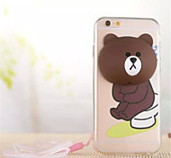 Multi-function Lovely Cartoon Support Wnding Device For IPhone 6/6s Assorted styles
