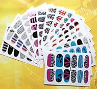 1pcs - Autocollants 3D pour ongles / Bijoux pour ongles - Doigt - en Punk - 95mm*60mm