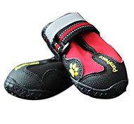 Dog Socks & Boots & Sneakers Red / Black / Yellow Spring/Fall Fashion