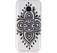 For Samsung Galaxy Case Transparent Case Back Cover Case Mandala TPU SamsungS7 / S6 edge / S6 / S5 Mini / S5 / S4 Mini / S4 / S3 Mini /