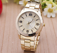 L.WEST Men's Fashion Steel Belt Quartz Watch Wrist Watch Cool Watch Unique Watch
