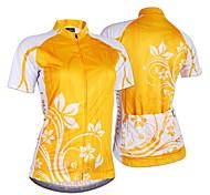 NUCKILY Mountain Bike Jersey Short Sleeve Slim Female Sunscreen Breathable Wicking