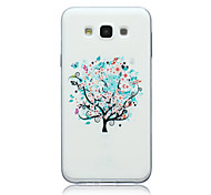 Trees Pattern TPU Material Phone Case for Samsung Galaxy E5/E7