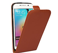 Luxury Genuine Leather Flip Case For Samsung Galaxy S3/S4/S5/S6/S6 Edge/S6 Edge+