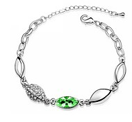 Hot New Charming Lovely Simple Bling Elegant Leaves Bracelet Bangle Party Jewelry For Women