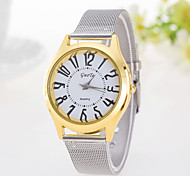 Women's Watch Simple Fashion Color Leisure Stainless Steel Watch Strap Watch Cool Watches Unique Watches