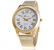 Xu™ Women's Golden Mesh Belt Quartz Watch Cool Watches Unique Watches Fashion Watch