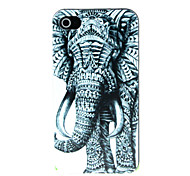 An Elephant Pattern Hard Case for iPhone 4/4S