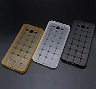 novo padrão cubo transparente caixa do telefone material de TPU para Samsung Galaxy J1 / J2 / J3 / J7 / J5 / on5 / on7 (cores sortidas)