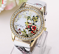 Ladies' Watch Fashion Ladies Watch Retro Pattern Colorful Butterfly Watch