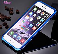 High-end Titanium Alloy Special Design Metal Bumper for IPhone 6/6s  Plus(Assorted Colors)