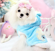 Dog Coat Blue / Pink / Yellow Winter Fashion