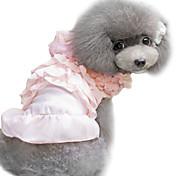 Dog Dress Black / Pink Summer Fashion