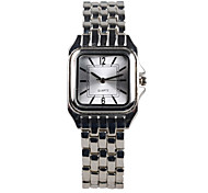 Fashion  Silver Square Ladies Watch