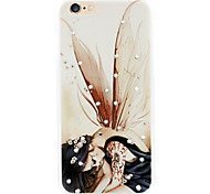 Fairy Pattern plastic back case for iPhone6/6s