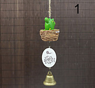 Fashion Novelty Small Fleshy/Hemp Rope/Bells Home Decor Pendant