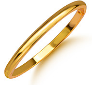 Simple Style Trendy Bangles Bracelet High Quality 18K Gold Plated Jewelry Gift BR70094