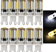 10Pcs E14 G9 3W 58x3014SMD 220LM Warm White/Cool white Light LED Corn Bulb (AC200-240V)