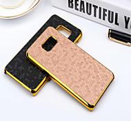 Для Samsung Galaxy S7 Edge Покрытие Кейс для Задняя крышка Кейс для Геометрический рисунок PC SamsungS7 edge plus / S7 edge / S7 / S6