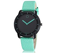 Korean fashion casual leather watches