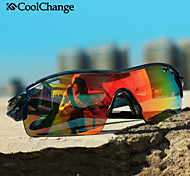 2016 Coolchange Bicycle Glasses Polarized Sunglasses Goggles 5 Groups of Lenses Cycling Eyewear Present Myopia Frame