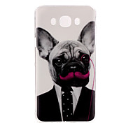 Dog Pattern TPU Soft Case for Galaxy J1 Ace/Galaxy J5(2016)/Galaxy J1(2016)