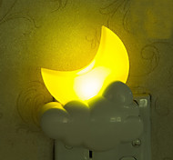 Lovely Moon Smart Light Controlled Emergency LED Night Light for Kids Room Home Decoration