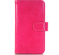 Three Pages Solid Color PU Leather Full Body Case for Samsung Galaxy S7 edge