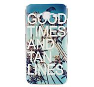 Coconut Tree Pattern TPU Soft Case Phone Case for Samsung Galaxy J5/ GALAXY Core Prime