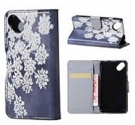 Blooming Flowers Magnetic PU Leather wallet Flip Stand Case cover for Wiko sunset2