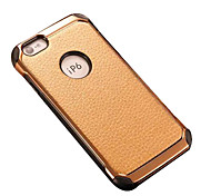 Lichee Pattern PU Leather protection case for  iphone 6/6S
