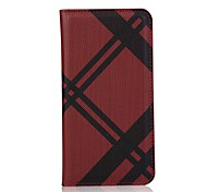 Cowboy Grain Pattern Genuine Leather Wallet Case for Samsung S7/S7 edge/S6 edge+(Assorted Colors)