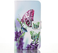 The Butterfly Leather Wallet for Samsung Galaxy  S3 S4 S5 S6 S7 S5Mini S6 Edge S7 Plus S7 Edge