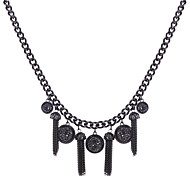 Casual Alloy Pendant Necklace