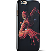 spider-man caso do iphone capa protetora volta suave para 6s iphone Plus / iphone 6 mais