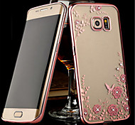 For Samsung Galaxy Note Transparent Case Back Cover Case Flower TPU Samsung Note 5 / Note 4 / Note 3