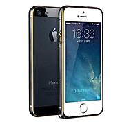 Ultra-thin Hippocampus Buckle Round Arc Edge Aluminum Border Bumper Case for iPhone 5 / 5s