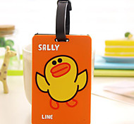 Travel Inflated Mat / Luggage Tag Luggage Accessory Rubber Pink / Orange / Brown / Green