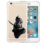 Eu nunca vou esquecer quem eu sou parte traseira do silicone estojo transparente para iphone 5 / 5s (cores sortidas)