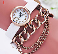 Ladies' Watch Fashion New Large Chain Strap Watch