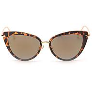 Sunglasses Women's Modern / Fashion Cat-eye Black / Pink / Purple / Blue / Green / Leopard Sunglasses Full-Rim