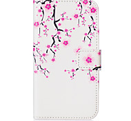 Plum Flower Pattern Embossed PU Leather Case for Galaxy J5(2016)/ Galaxy Grand Prime/ Galaxy Grand Prime/ Galaxy J5