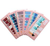 Fashion 12 Constellation Nails Art Sticker Nail Wraps Sticker Watermark Fingernails Decals