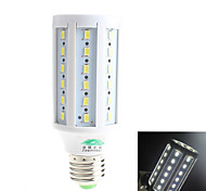 Zweihnder W417 E27 20W 600-1300LM 3000-3500K 60*5730 SMDs LED White Light Corn Lamp - White (AC 85-265V)
