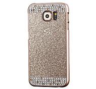 Caso del brillo del borde del teléfono Samsung S7 cáscara del teléfono de lujo del diamante de Samsung S7 para Samsung S4 / S5 / S6 /