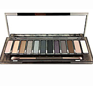 New Eyeshadow Palette 12 Colors Make up Set Basic Eyeshadow SMOKY Palettes Cosmetics