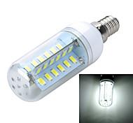 8W E14 Bombillas LED de Mazorca B 48 SMD 5730 400-500 lm Blanco Cálido / Blanco Fresco Decorativa AC 100-240 V 1 pieza