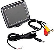 "3.5"" Lcd Car Dvd Cctv Reverse Rear View Camera Monitor"